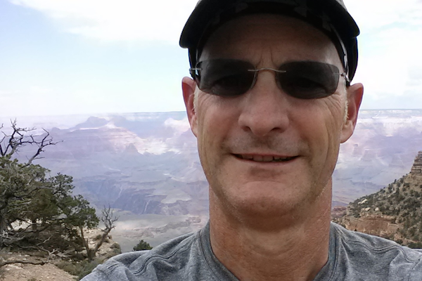 Grand Canyon Selfie - Something Significant: Matt Gersper of Happy Living | happyliving.com