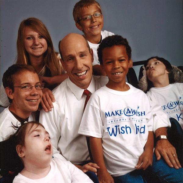 Something Significant: David Williams | happyliving.com - image via Make-A-Wish