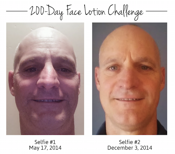 200-Day Face Lotion Experiment   happyliving.com