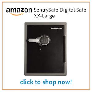 SentrySafe XX-Large on Amazon.com