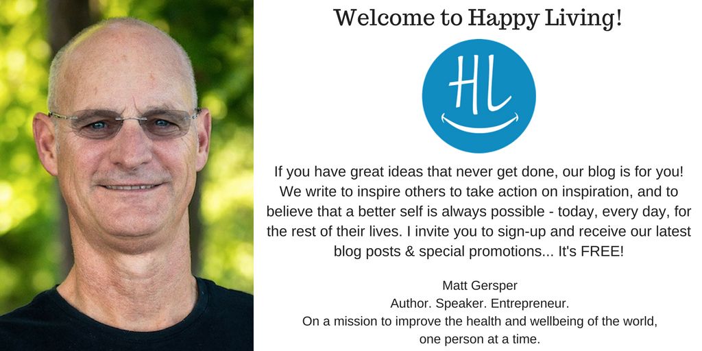 inspiration into action | happy living