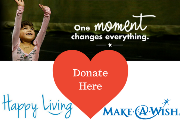 Make-A-Wish | Happy Living